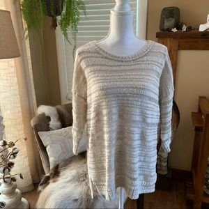 Rubbish See-through Knit Sweater Top